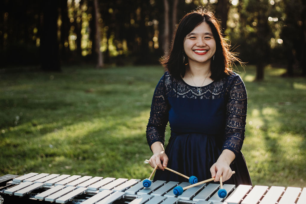 Anna kho - stairwell team member - percussionist. graduate qld conservatorium of music [griffith university]