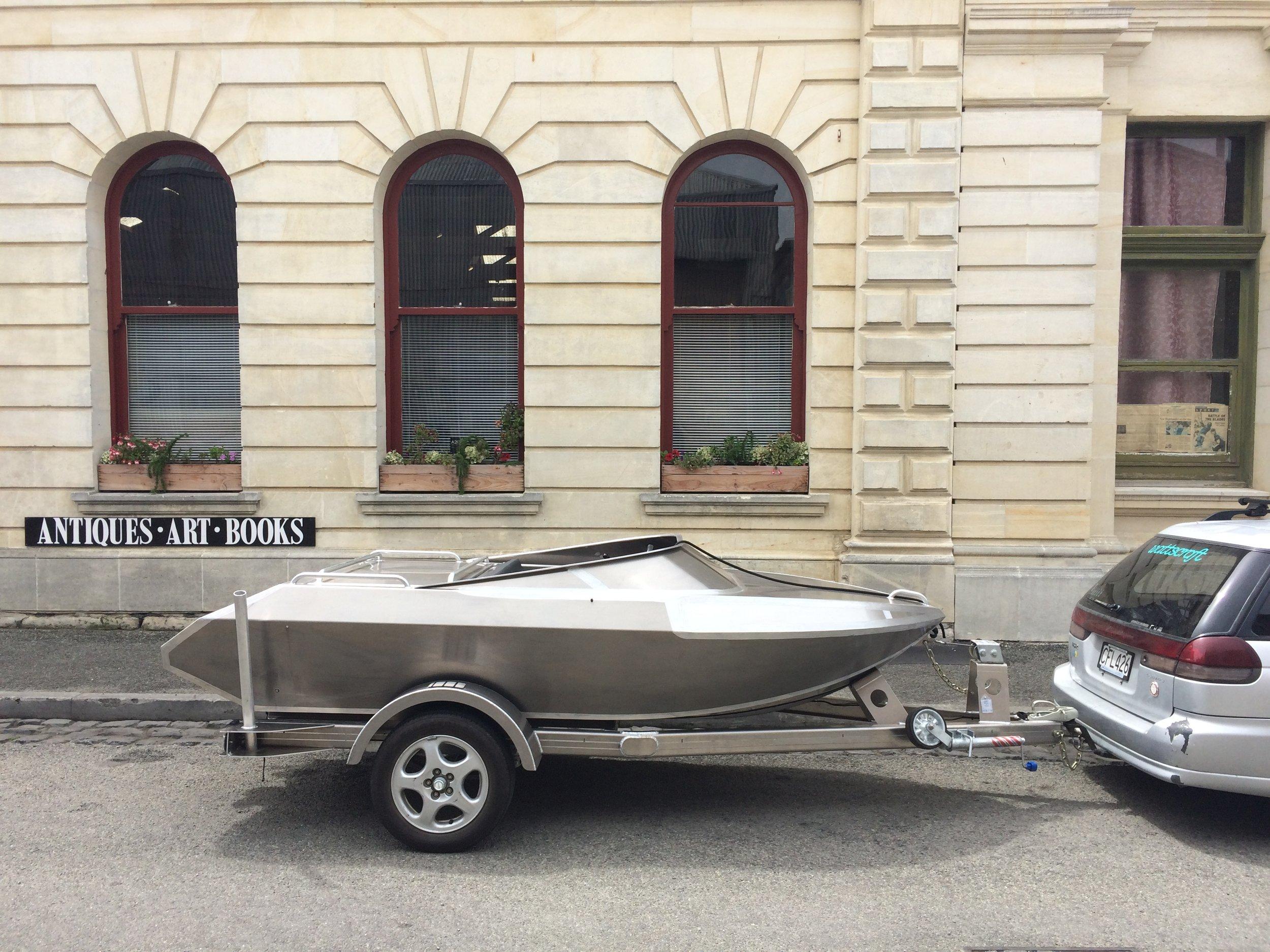 3.3 River jet boat
