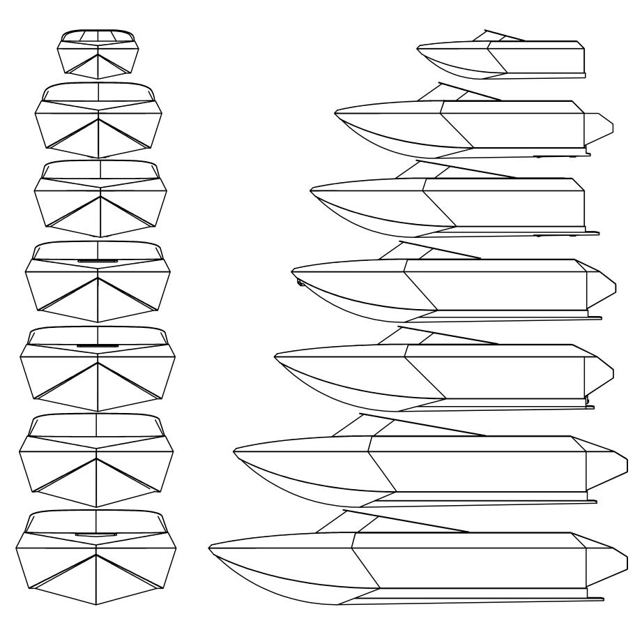 Pick a hull size -