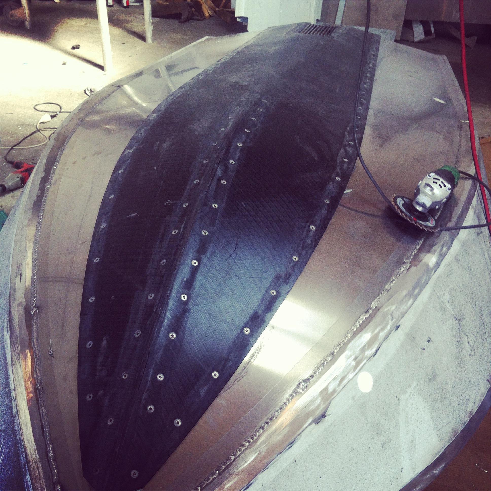 CNC cut UHMWPE keel strip.jpeg