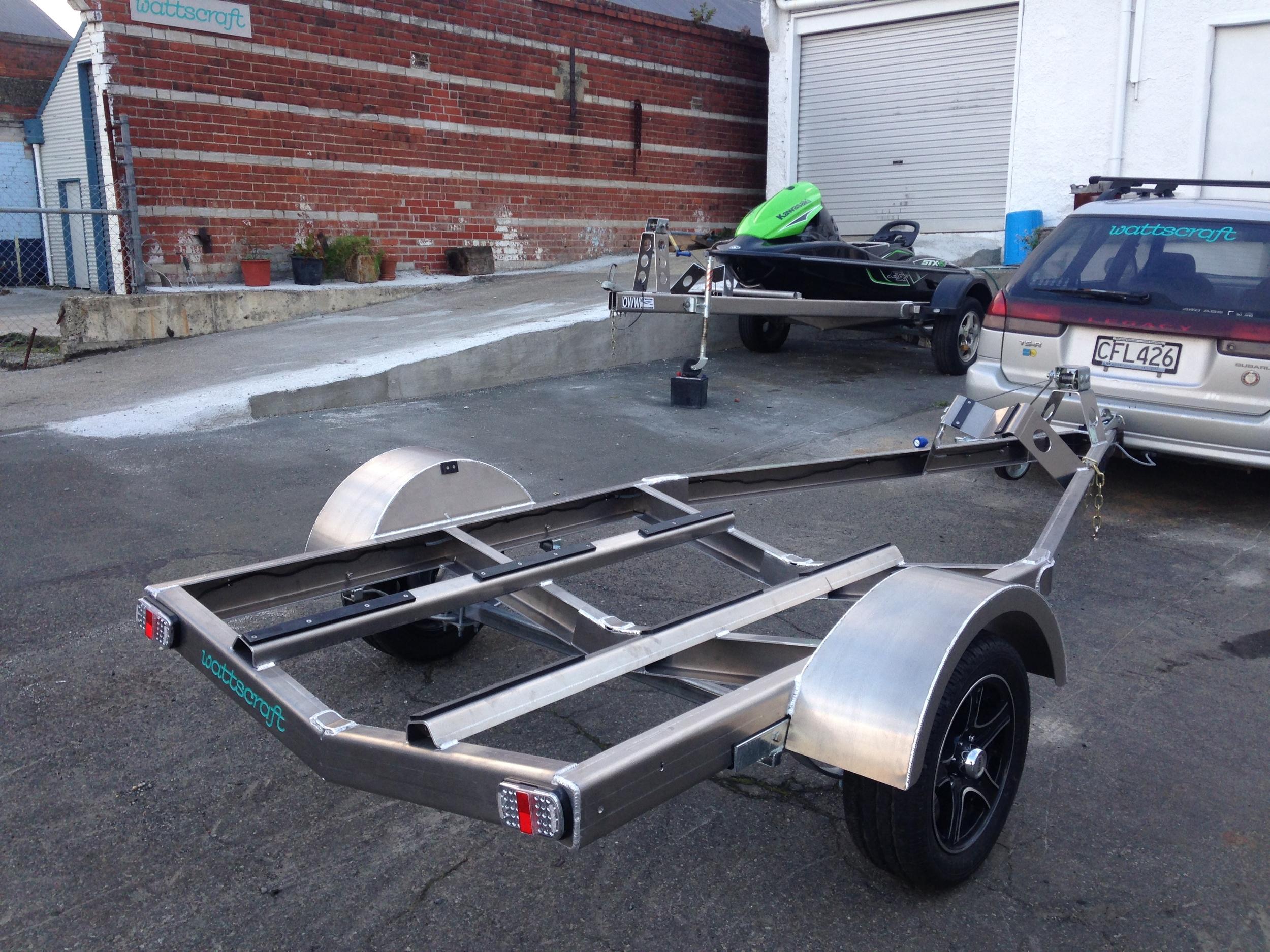 WattsCraft aluminium trailer frame kit-set