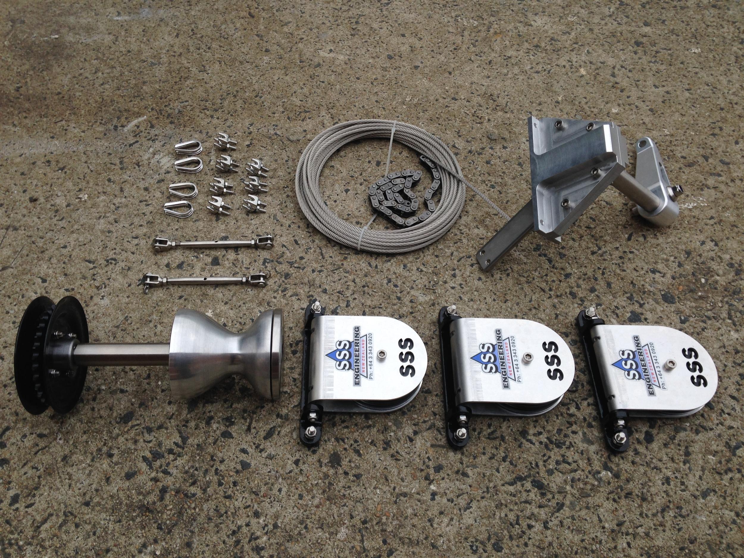 SSS Engineering Steering Kit - WattsCraft Spec