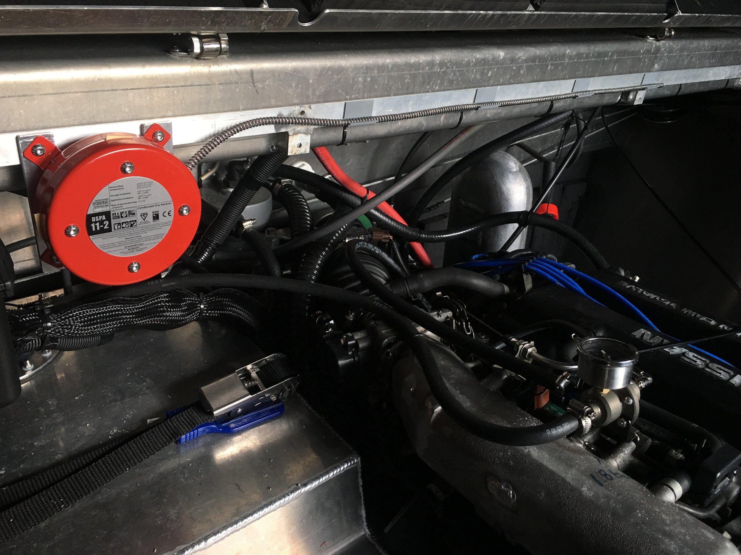DSPA Fire Suppression System