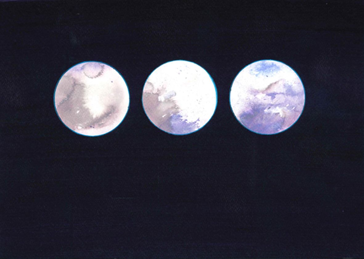 Reflector Triptych VII