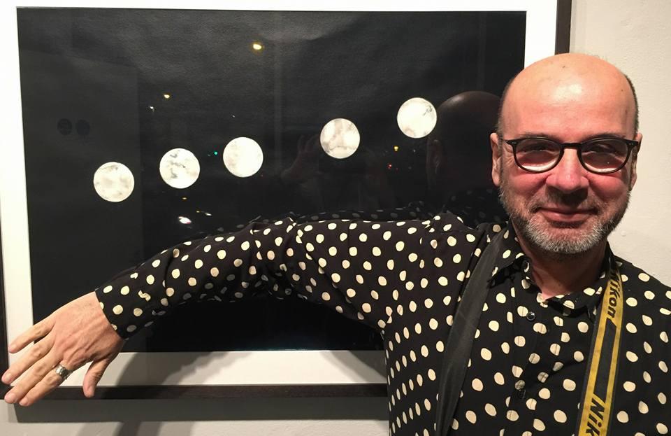 Manel Ortega Retreating Light Exhibition Photographer