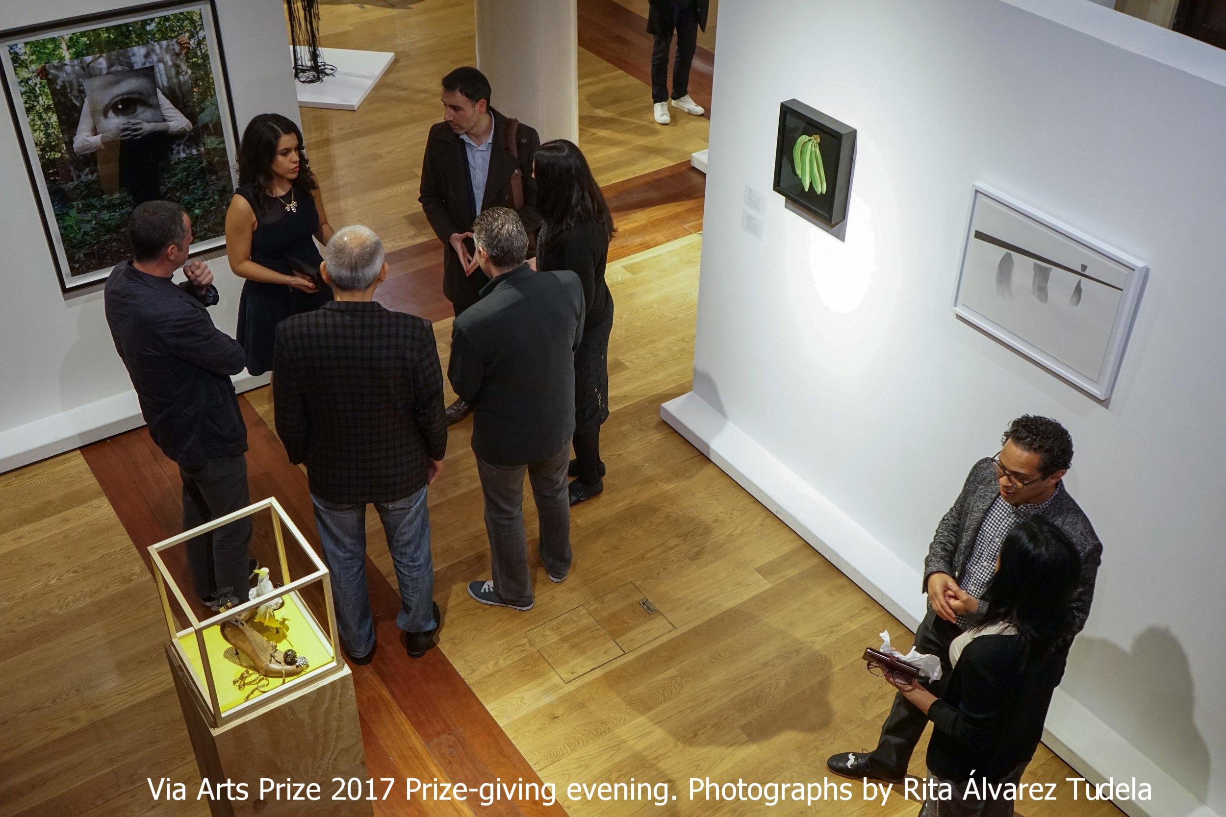 Via Arts Prize 2017 Prize-giving evening. Photographs by Rita Álvarez Tudela
