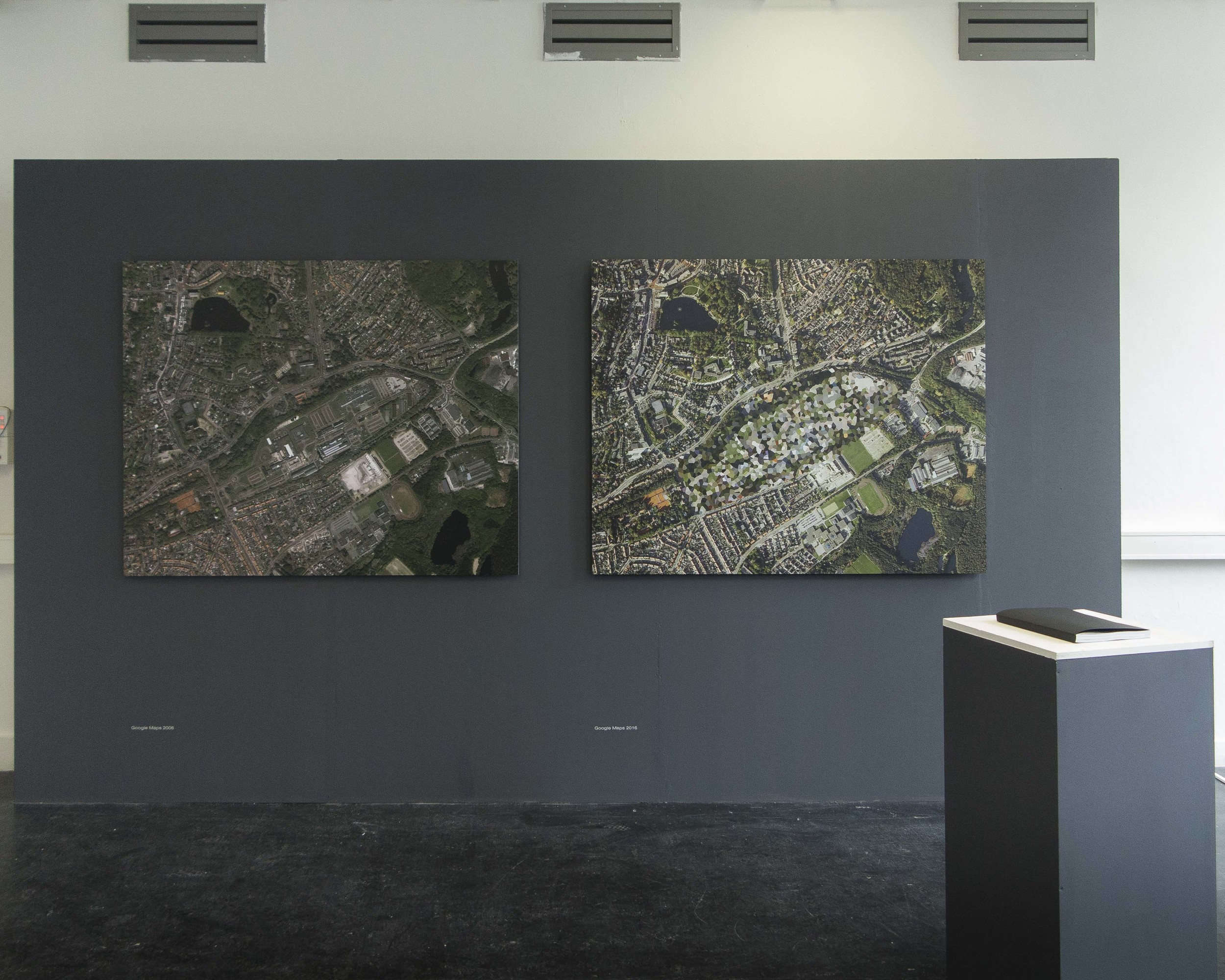 """Exhibition """"IN THE NAME OF SECURITY"""" at the Royal Academy Of Art, The Hague 2016 © Fabian Fraikin"""