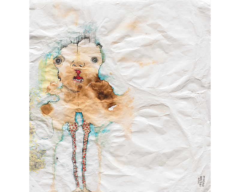 """""""Τερατάκι τσέπης"""" by Christina Papakyriakou - """"Όαση Space for visual experimentations"""""""