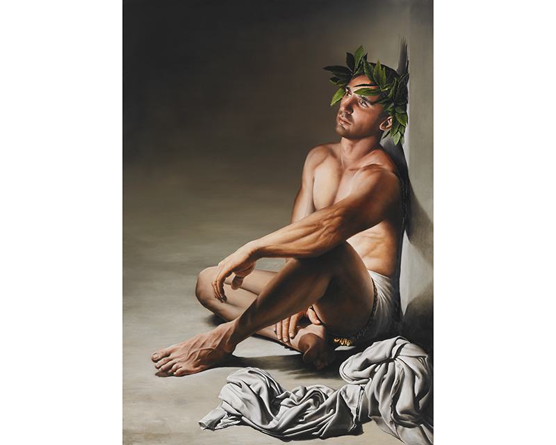 """Achilleas"" by Lazaros Menelaou -Giclée Fine-Art Canvas"