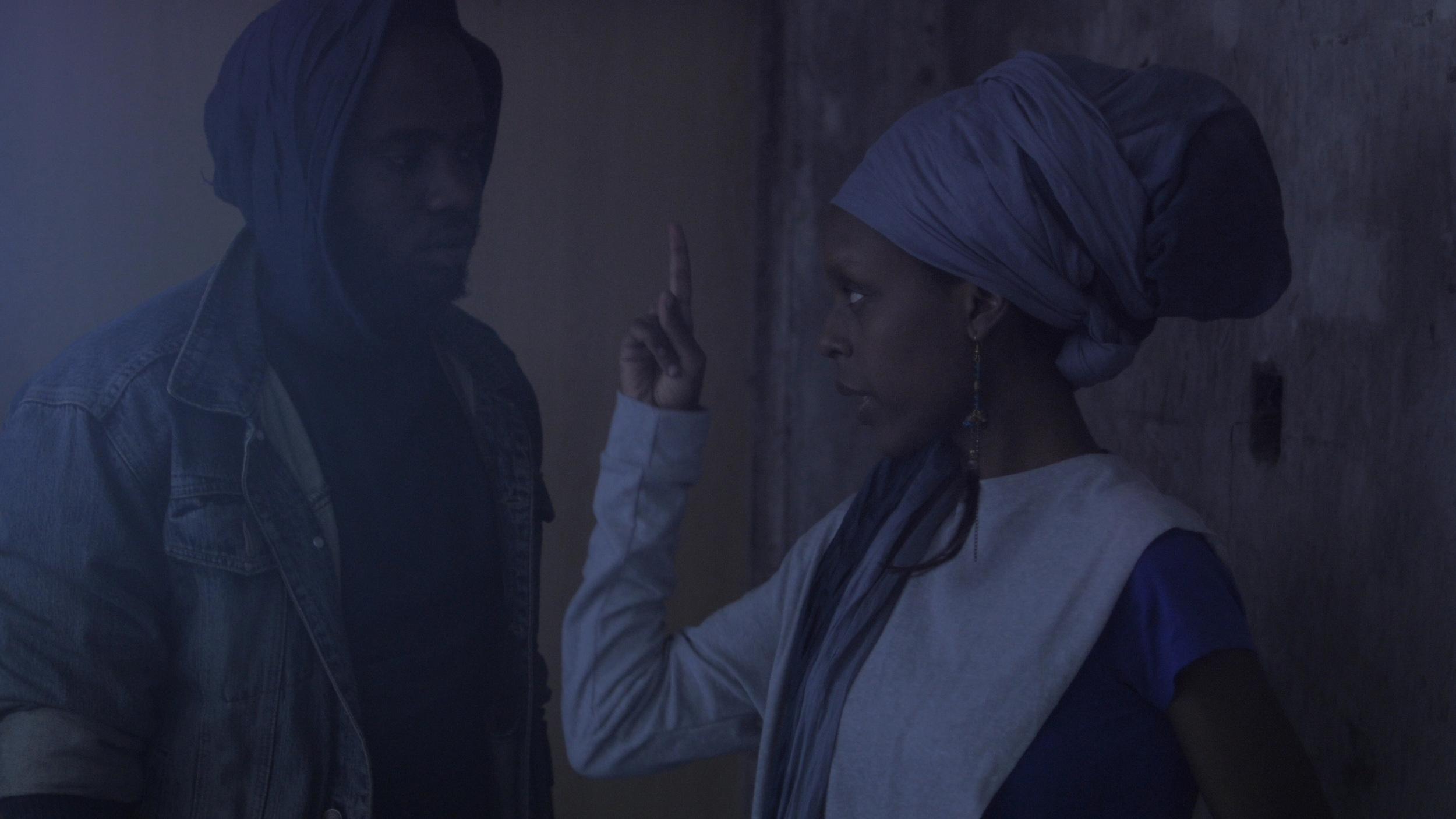 Biko/Jonah (Tim King'oo)and Mwarabu (Njambi Koikai) are Tuko Macho.