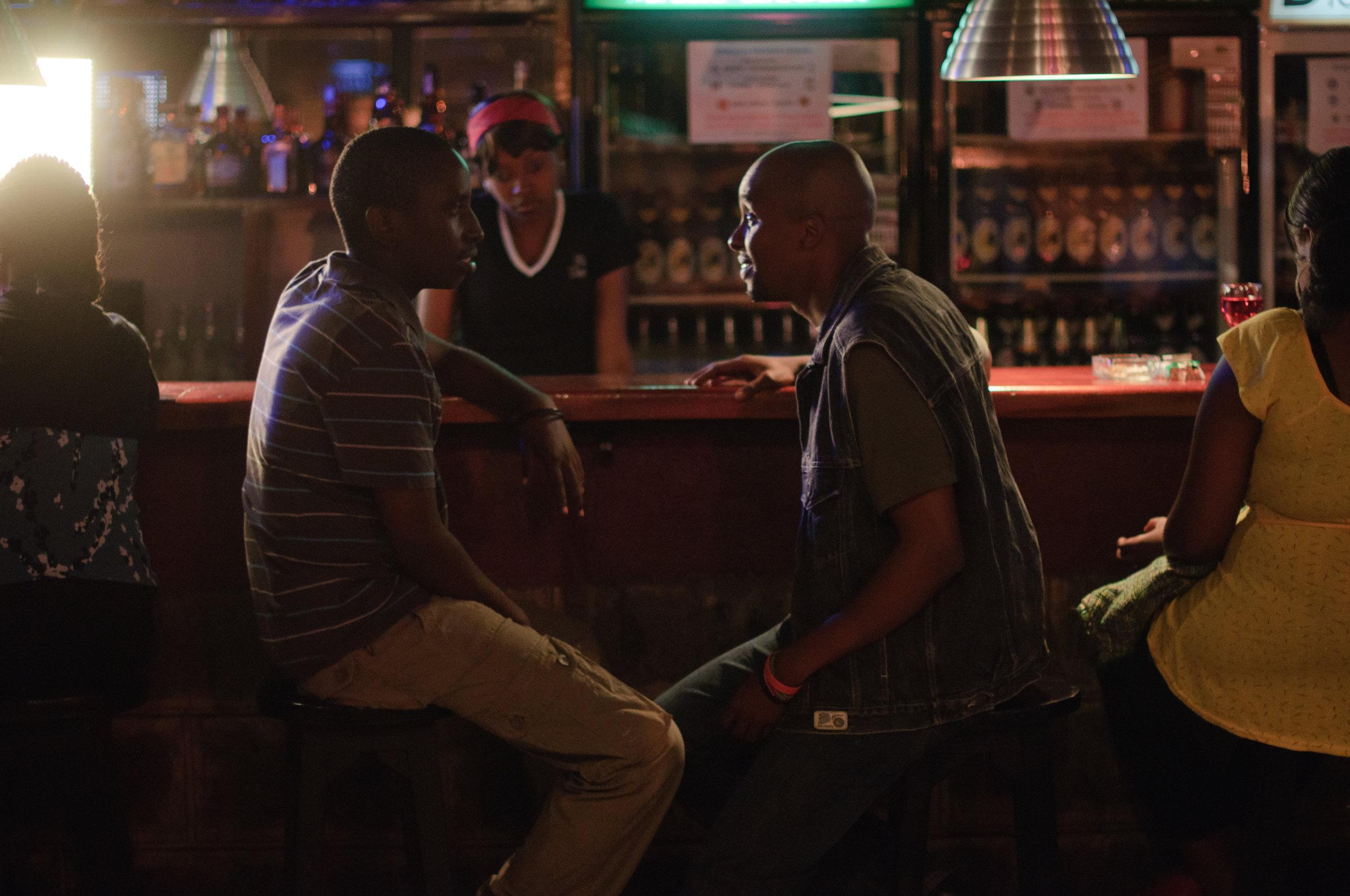 Set still from 'Nairobi Half Life'(2010). Jim Chuchu