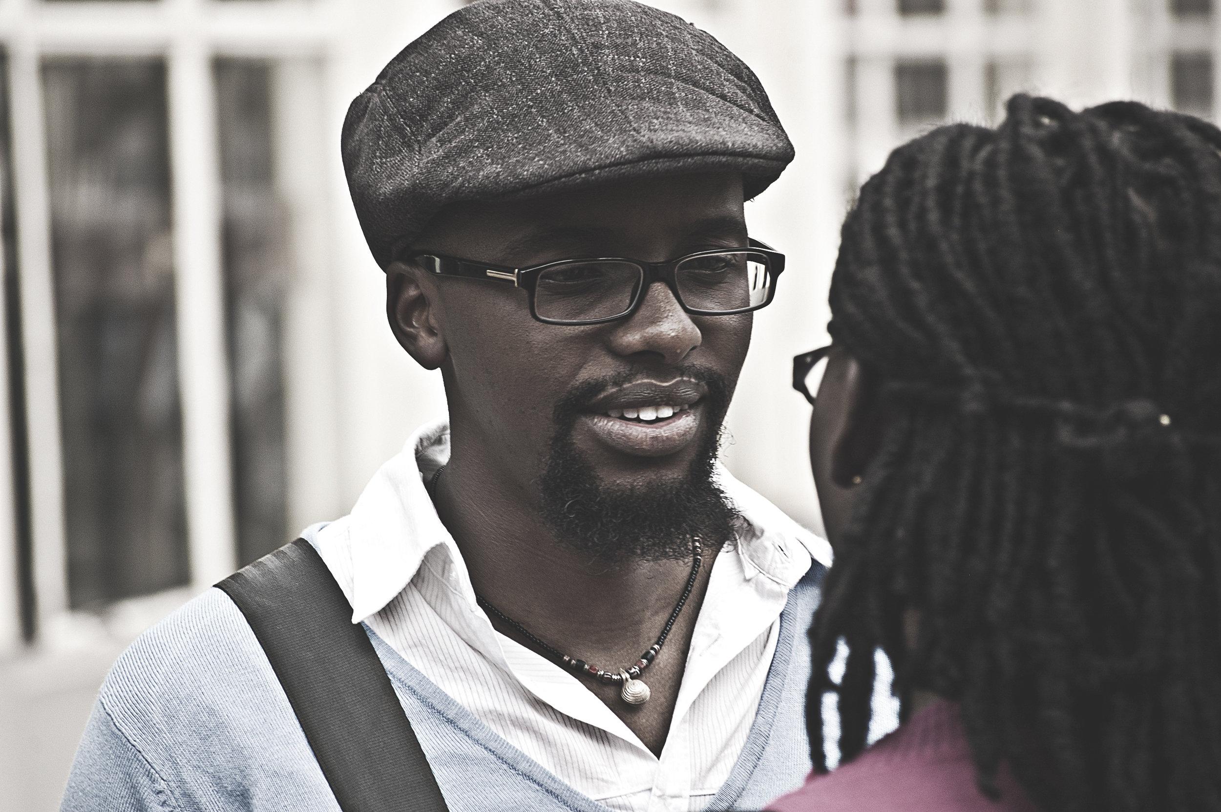 Set still from 'Sauti' (2012). Joshua Obaga