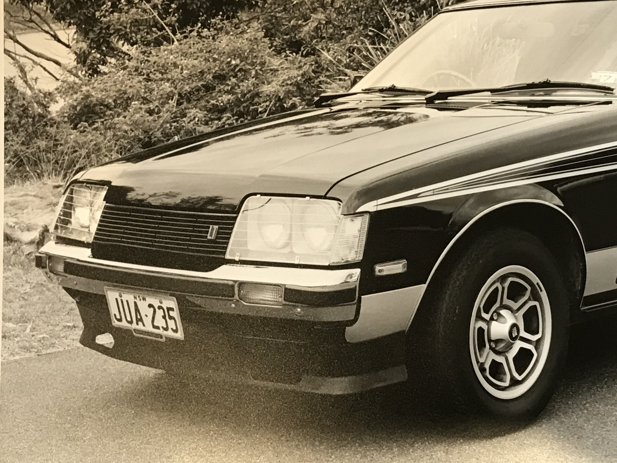 Restyled Toyota Celica 1970s-late 80s