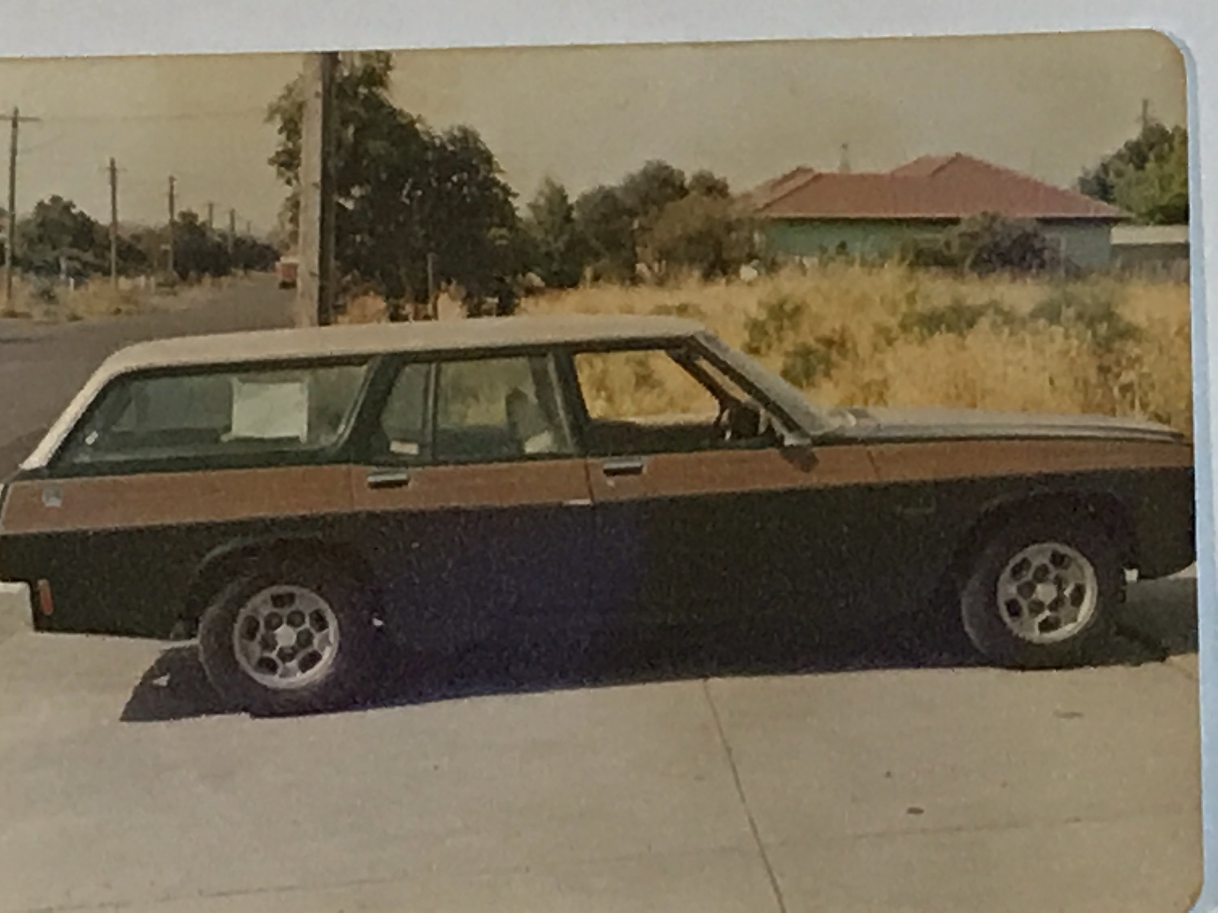 Woodgrain HQ Holden 1970s