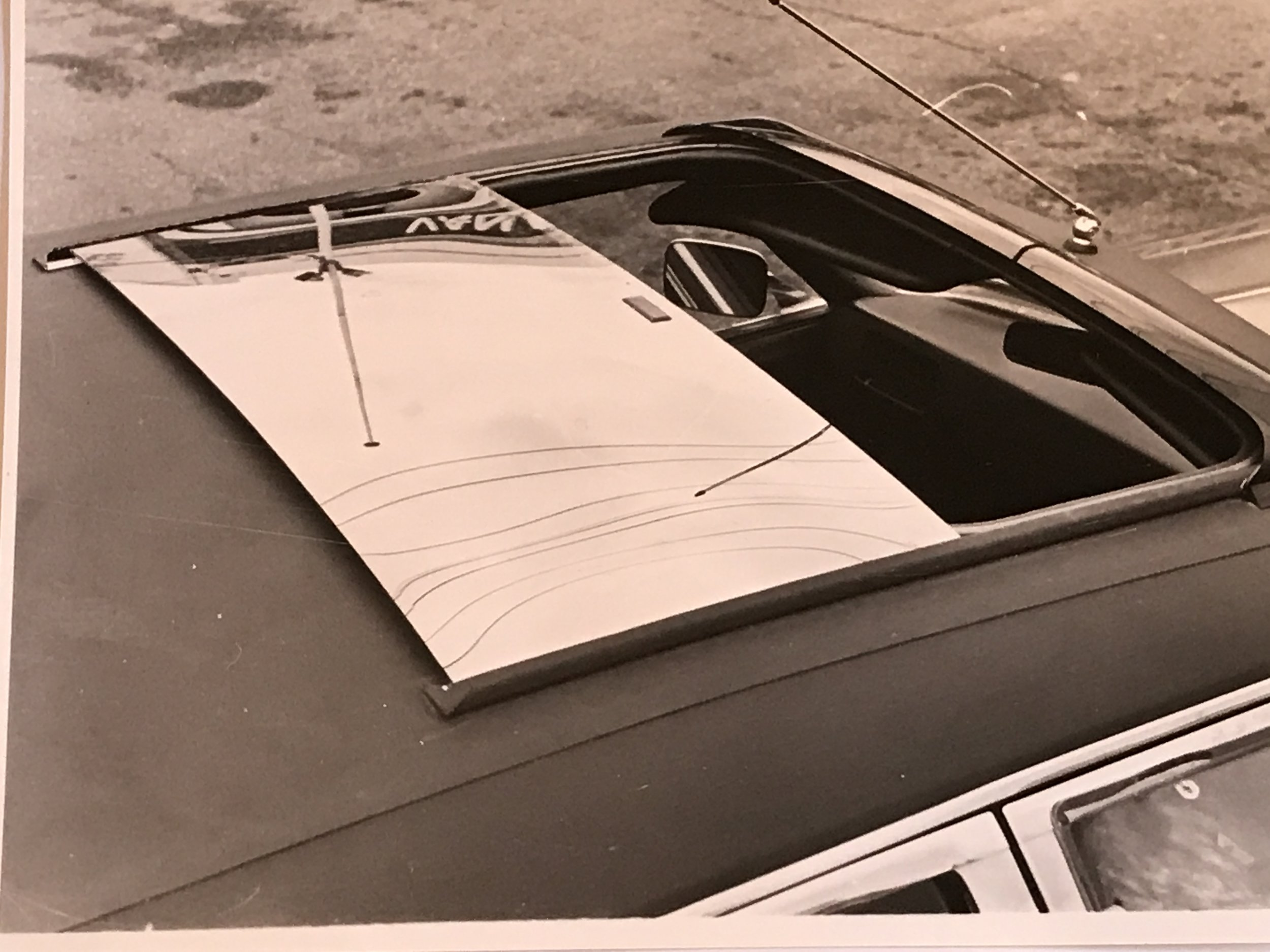 Air International Sliding Sunroof 1970s