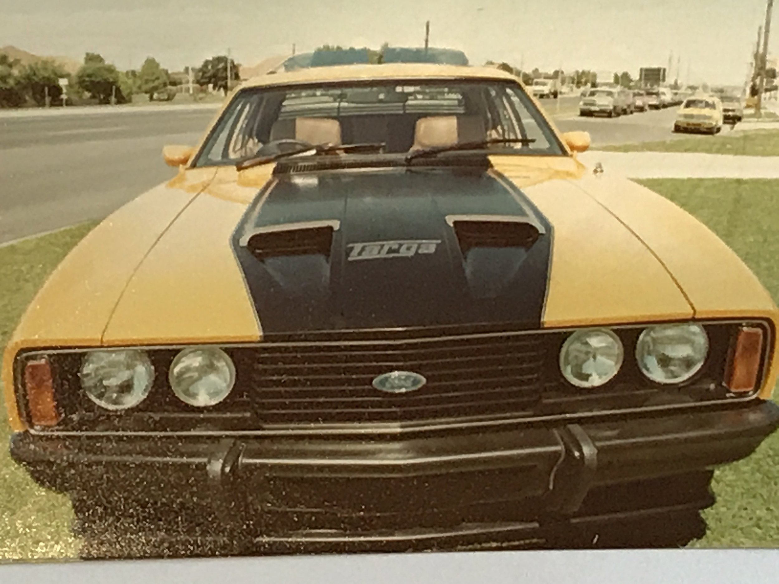 Retyled Ford falcon 1970-mid 80s
