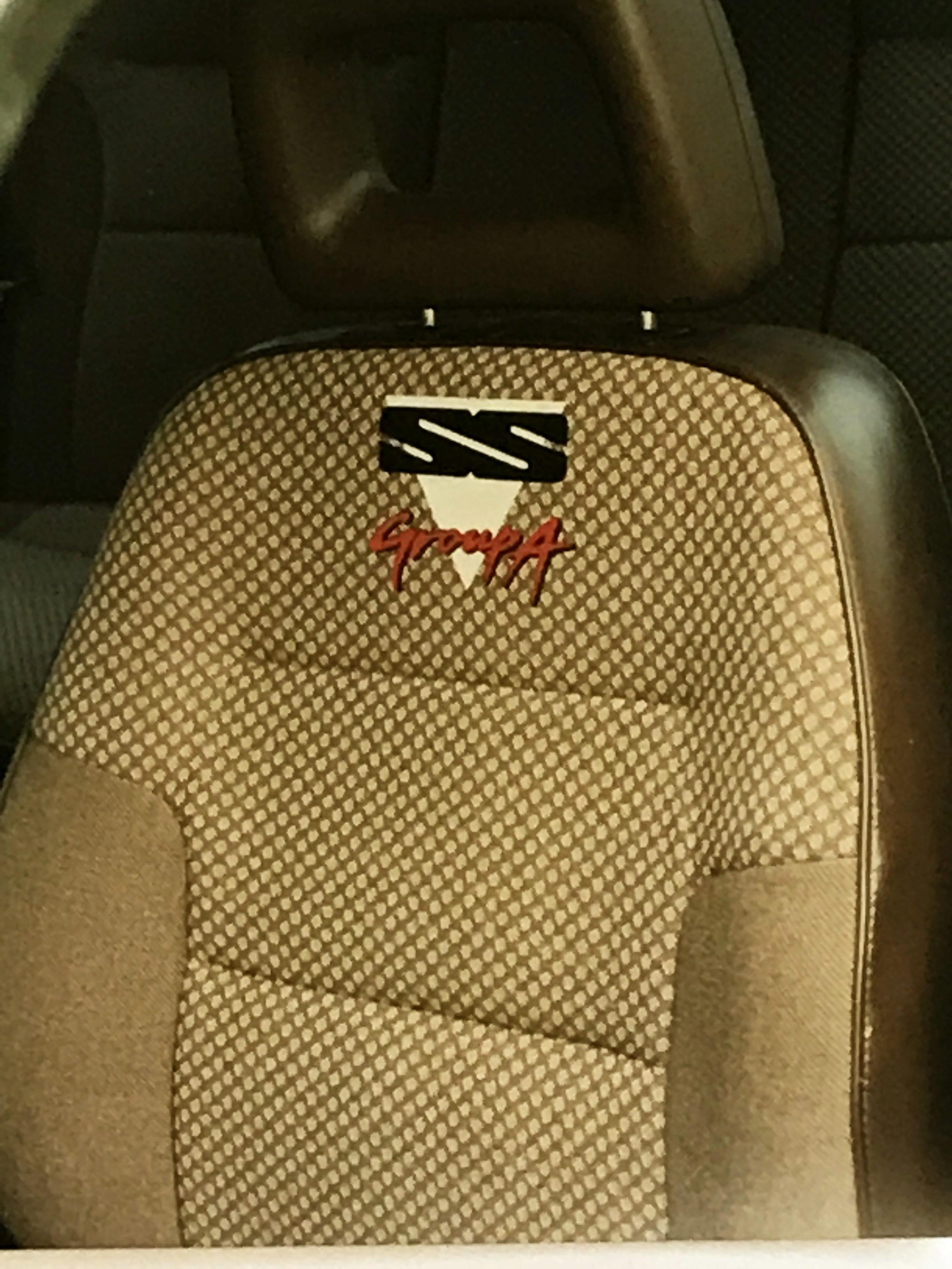 Custom Seat Trim 1990s