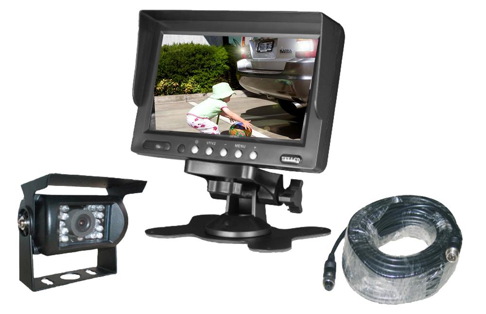 """26-044 7"""" Monitor+Camera Set"""