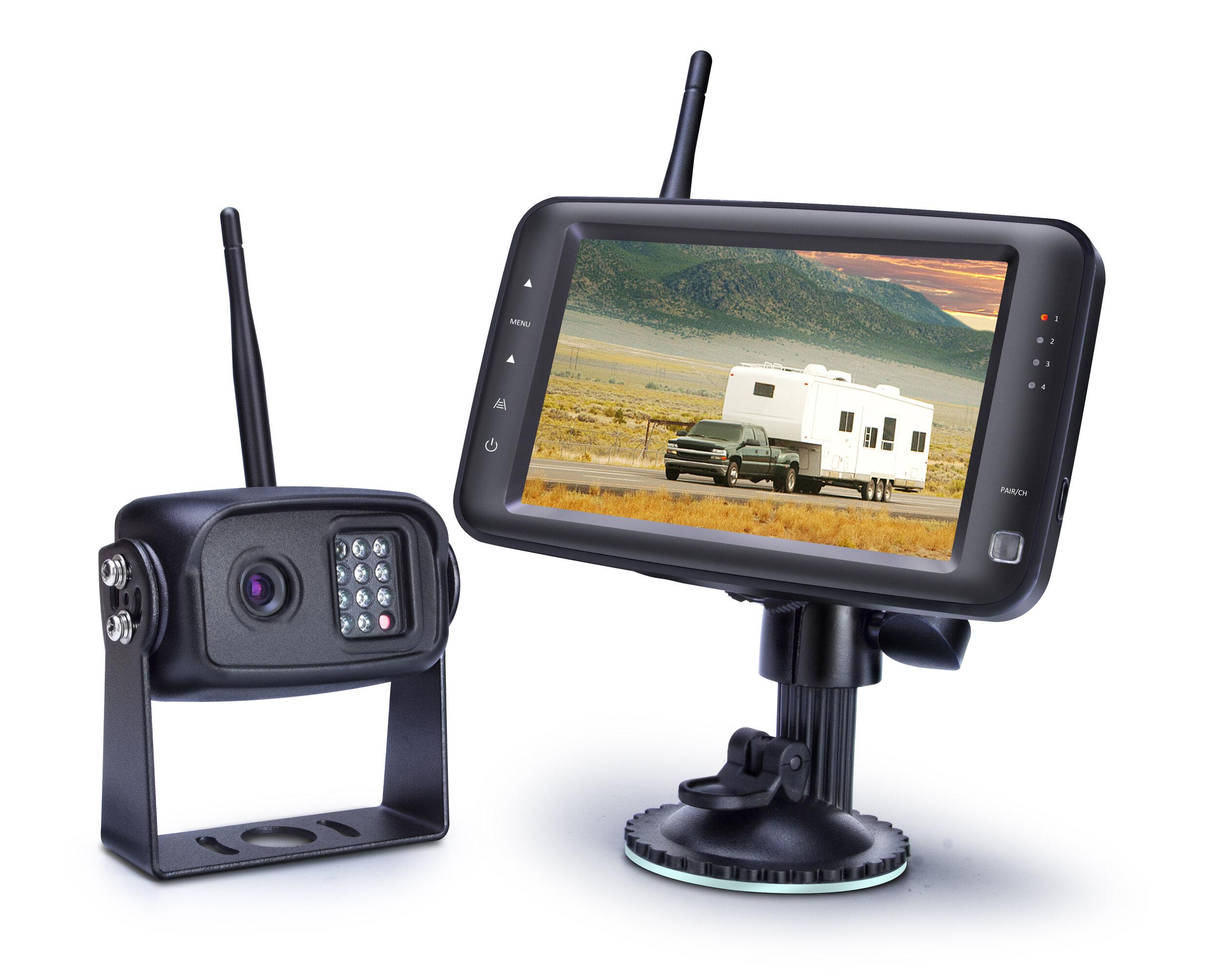 "5"" 4CH Wireless System"