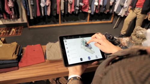 Mit einem Rechtsklick veröffentlichen Sie die Merchandising-Richtlinien an die vorab hinterlegten Stores. Im Store erhält der Benutzer diese Richtlinie in 3D auf seinem Tablet oder PC.