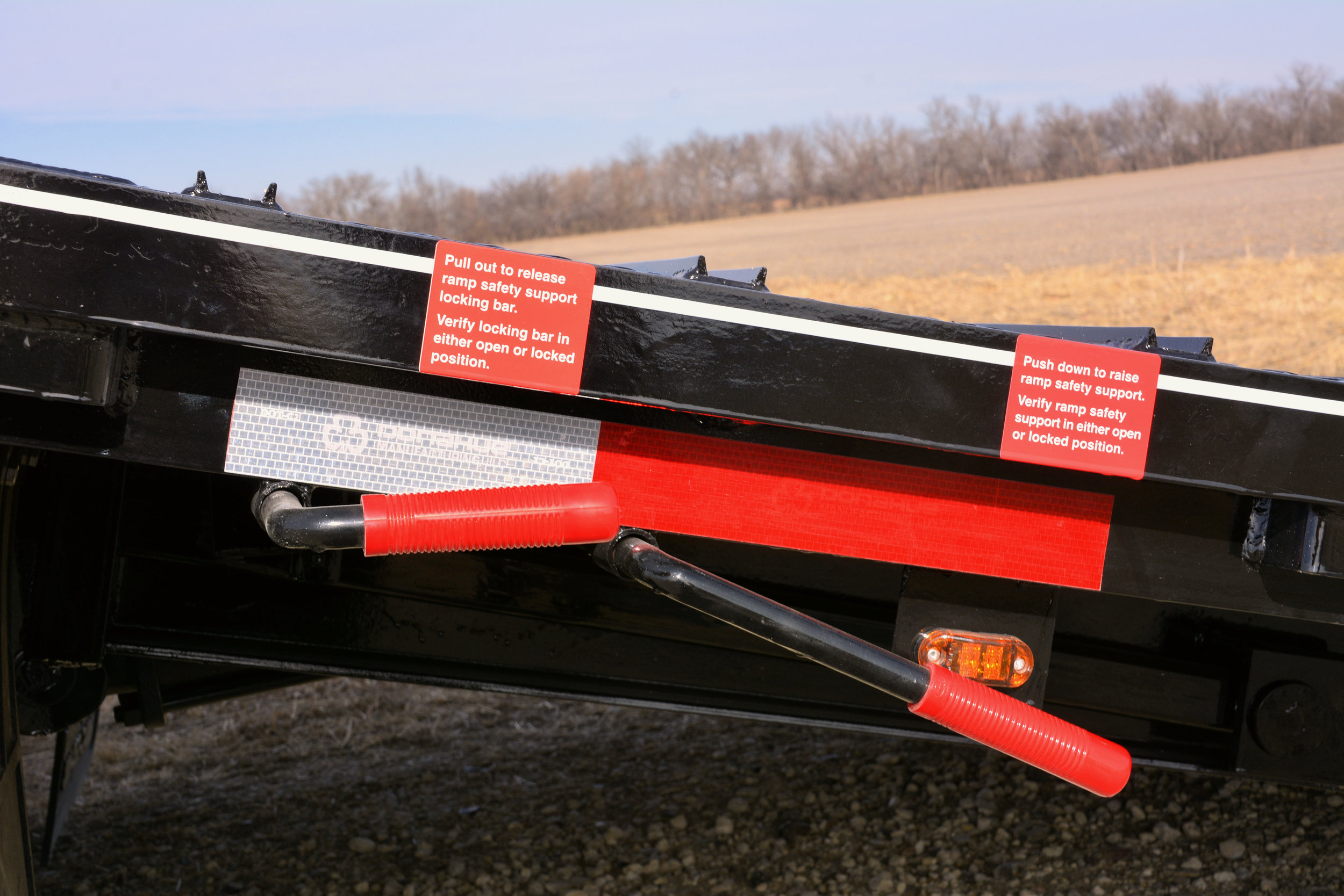Dovetail Release - Safety Lock Levers