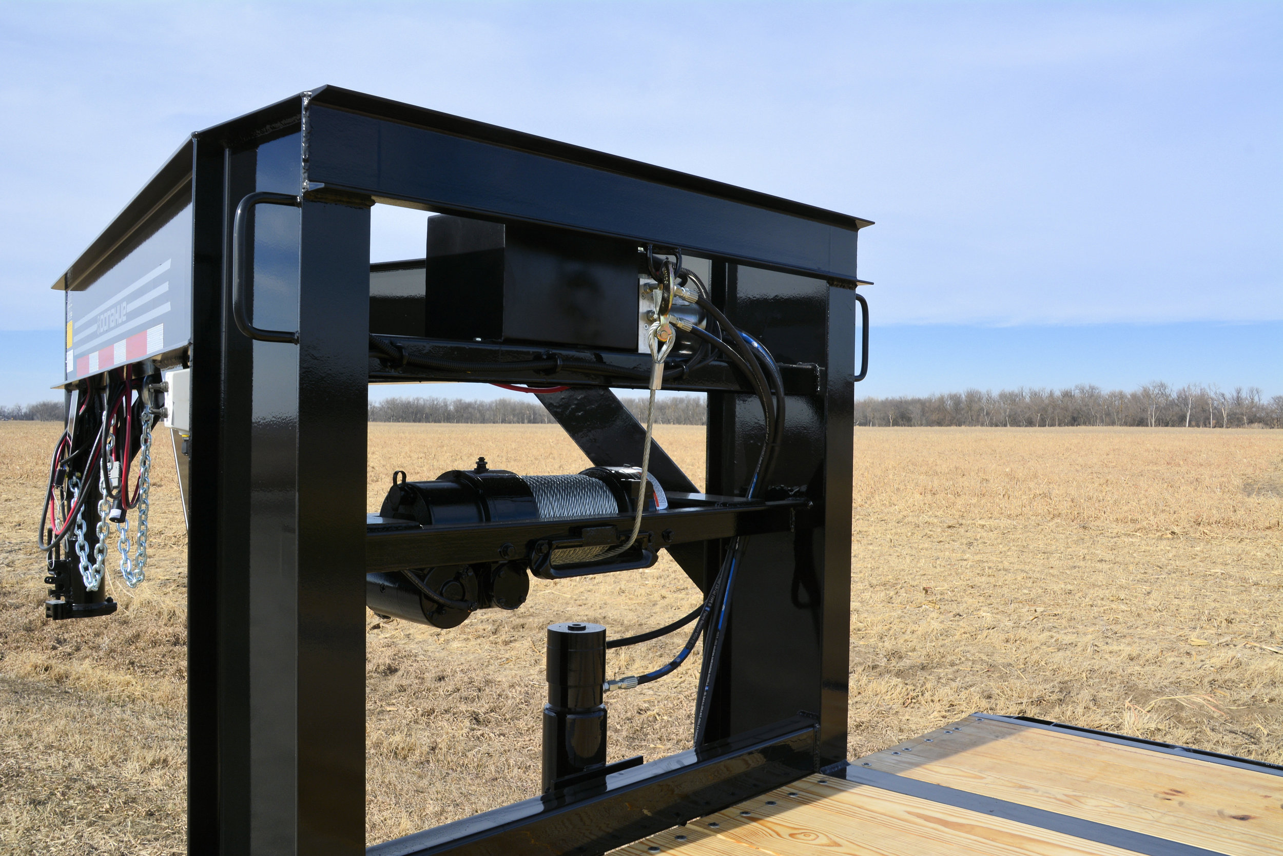 Optional 12,000 lb. Electric Winch