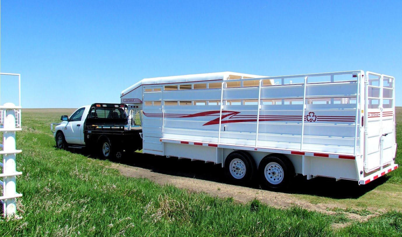 """""""Ranch Hand"""" Stock Trailers"""