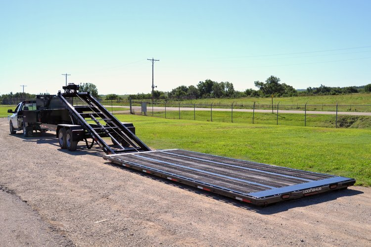 Detachable Flatbed Trailers