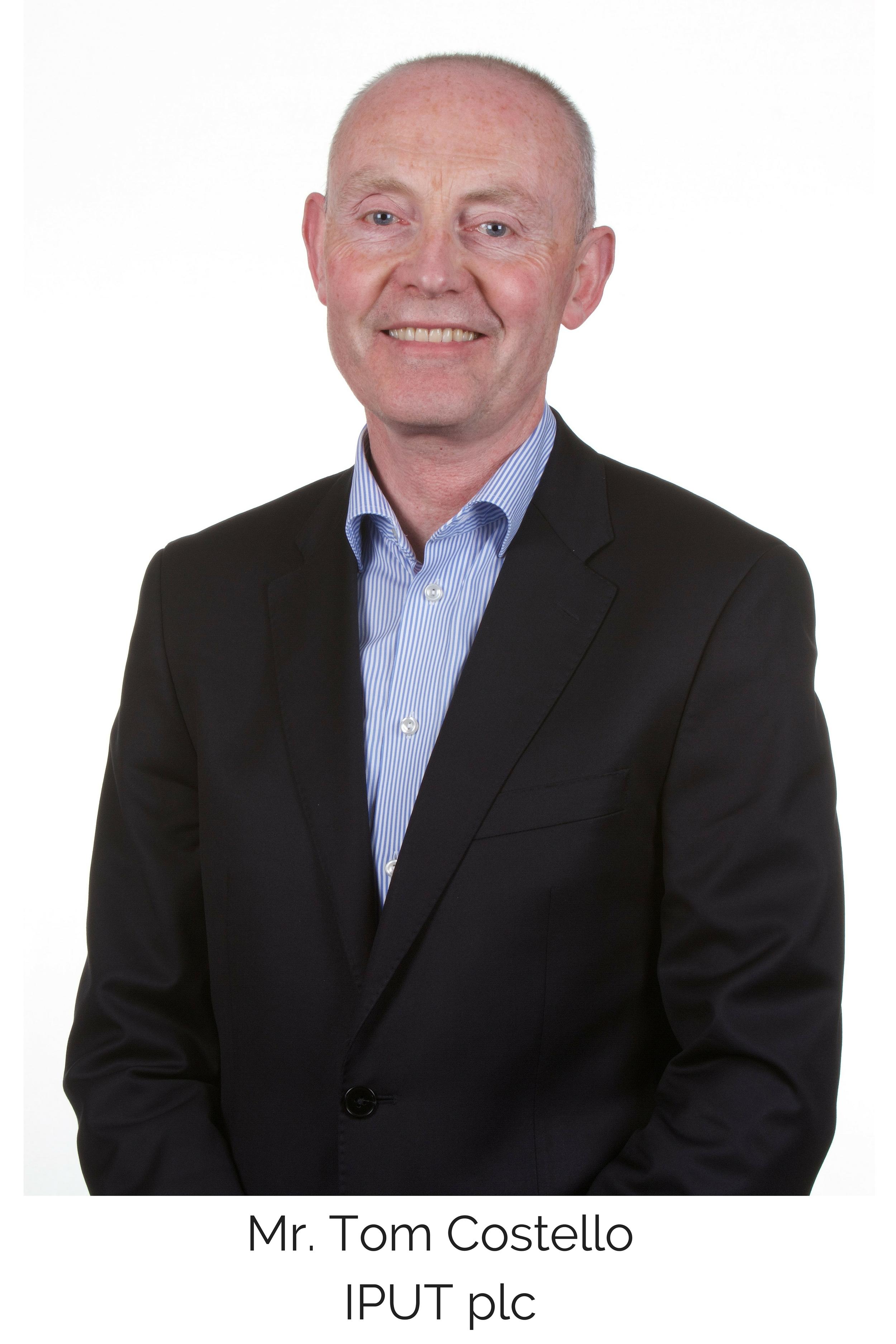 Mr. Tom Costello  IPUT plc