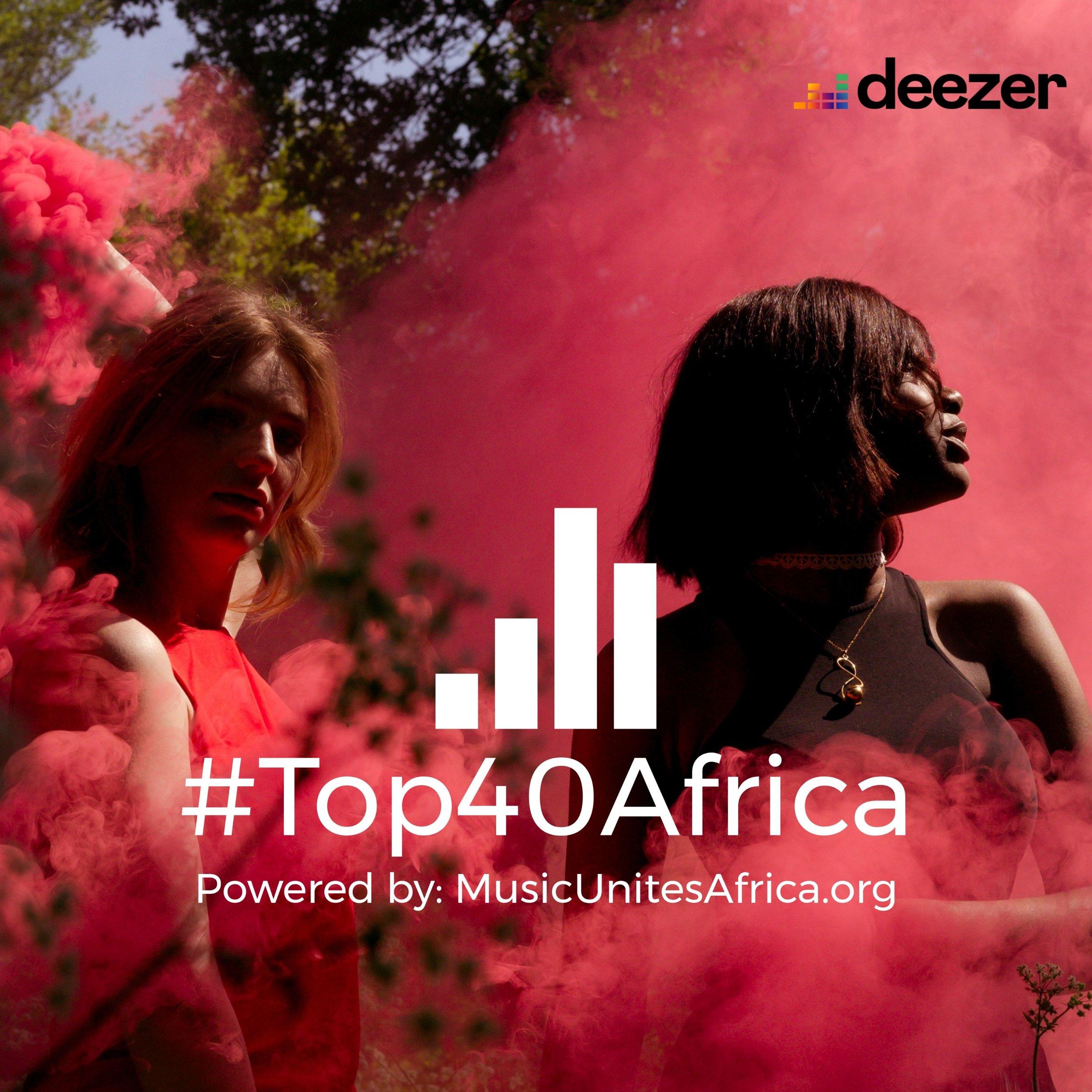 #Top40Africa Playlist-Logo 2year Anniversary Deezer.jpg