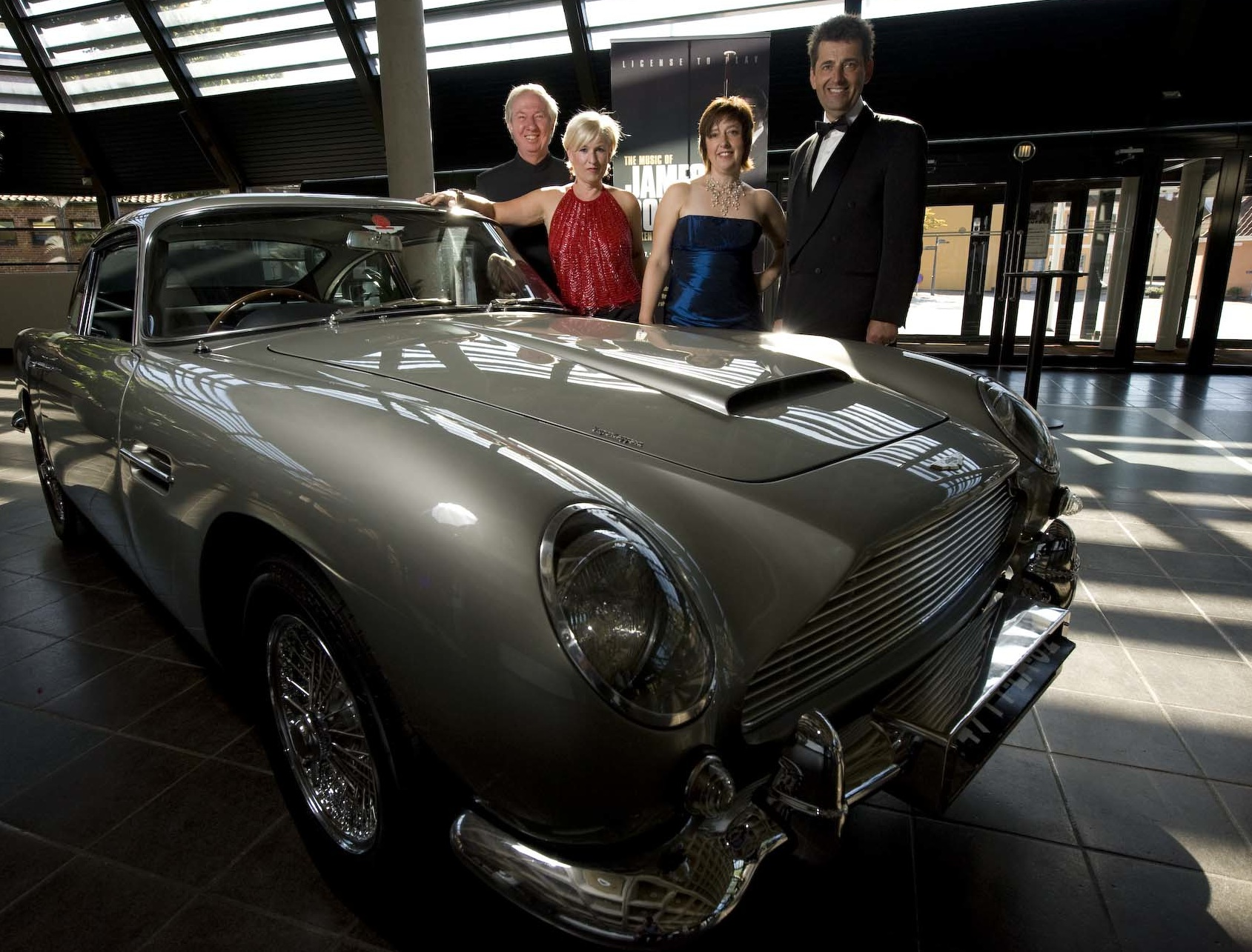 James Bond promo with Grainne Renehan, Graham Bickley and Gareth Hudson