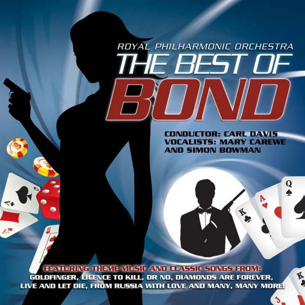 THE MUSIC OF JAMES BOND — Mary Carewe
