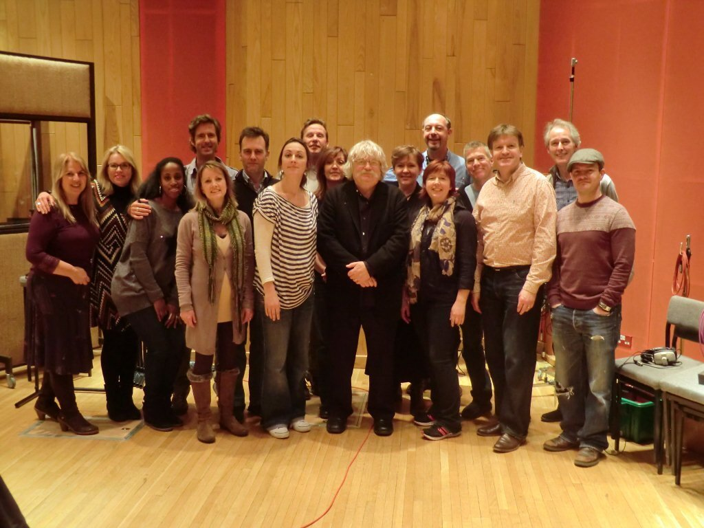 With Karl Jenkins