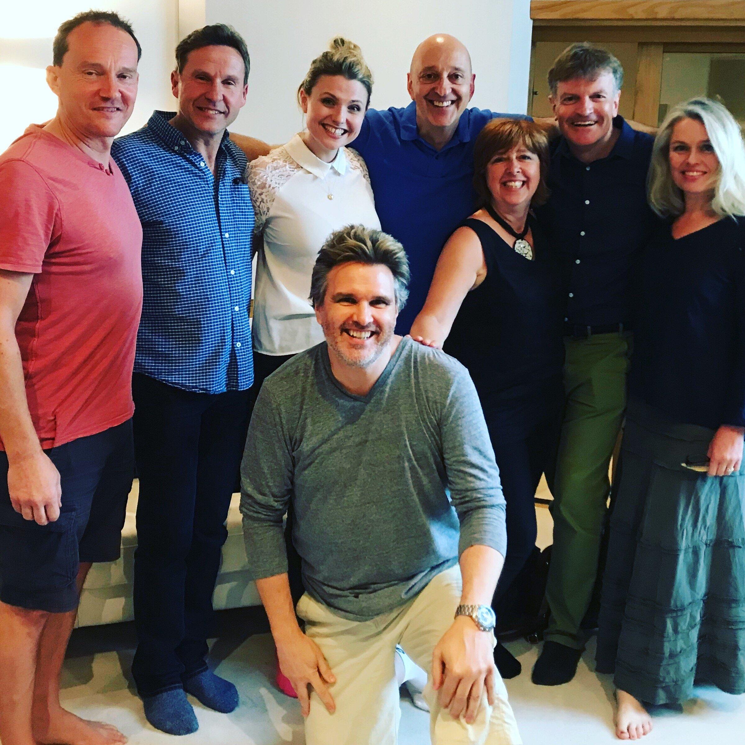 The happy Bing team!