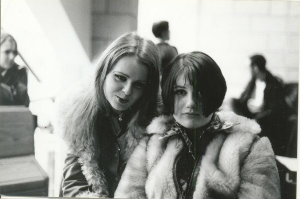 Rachel and Lisa, circa 1996:Havering Sixth Form College, Upminster