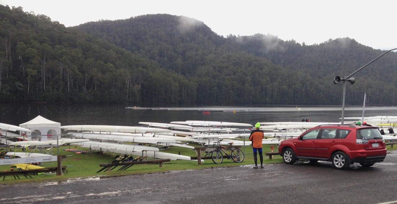 2018 Australian Masters Rowing Championships at Lake Barrington