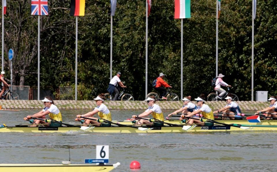 Australian Women's Quad at 2018 World Championships