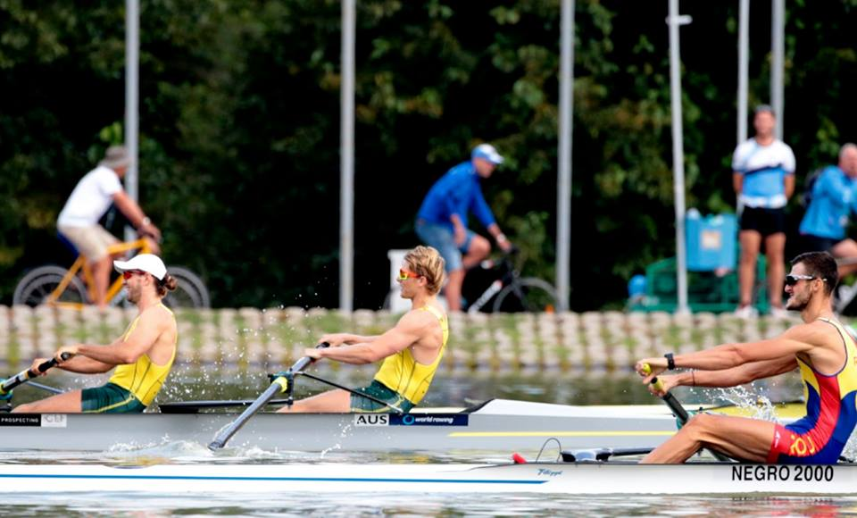 Jack O'Brien and Andrew Judge - Men's Pair 2018 World Championships