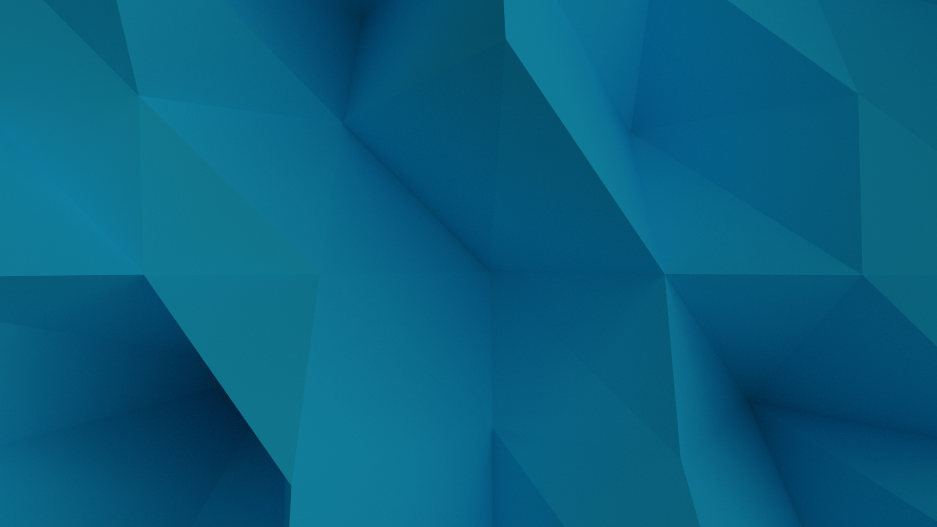 Low Poly blue
