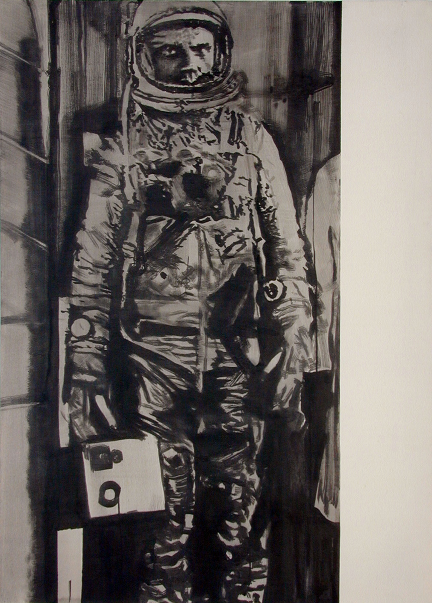 Self Portrait as an Astronaut