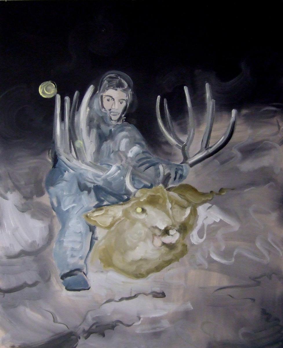 Hunter at Night