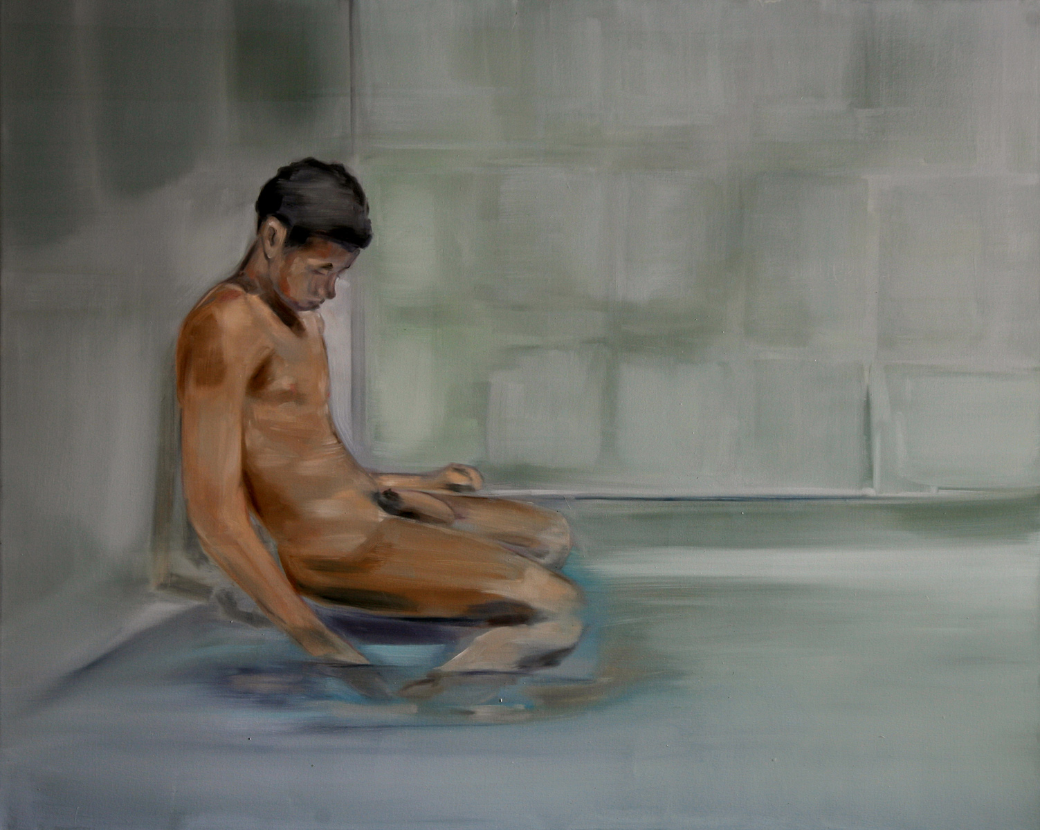 Untitled (Boy in Sauna)