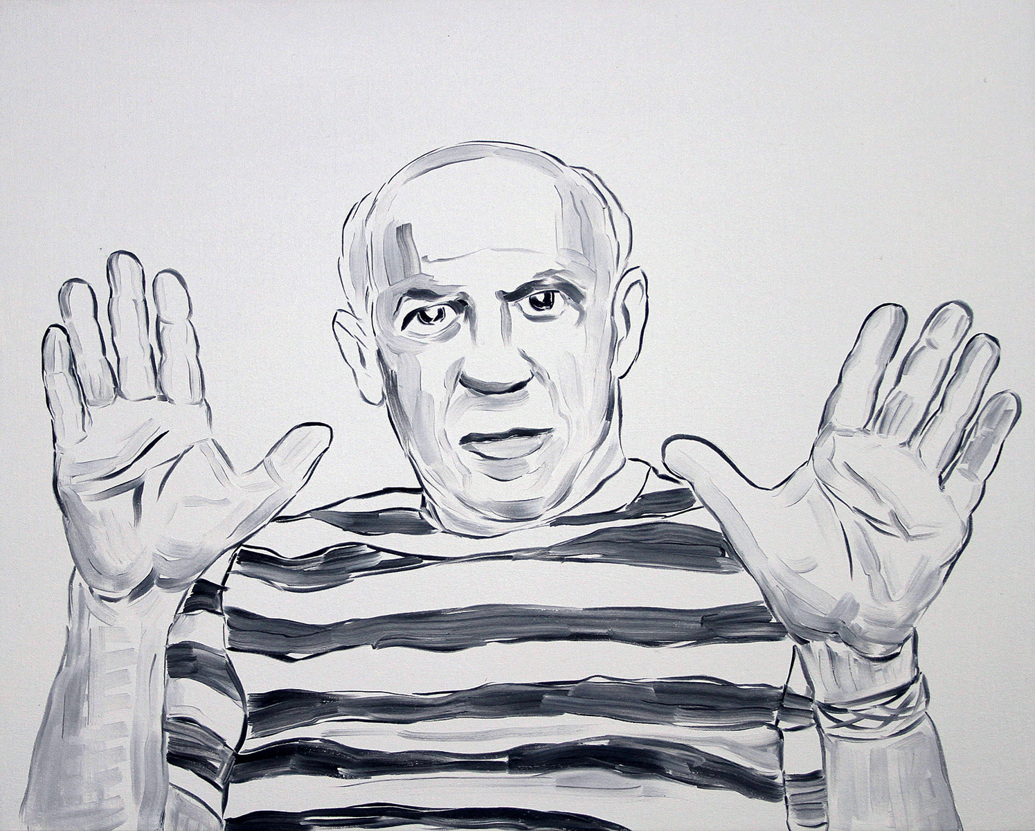 Picasso Lifting Hands (Empty)
