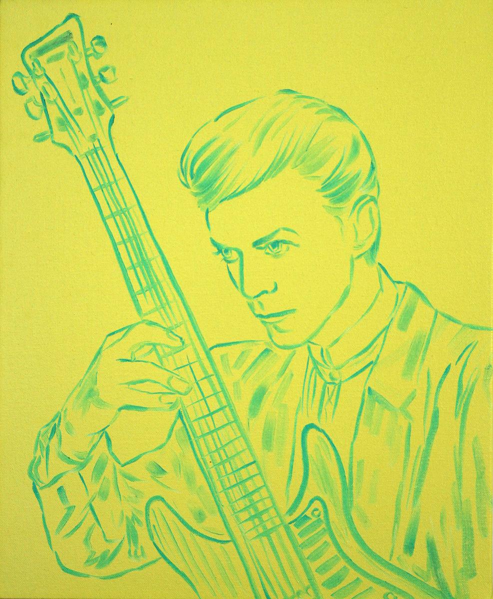 David Plays Guitar