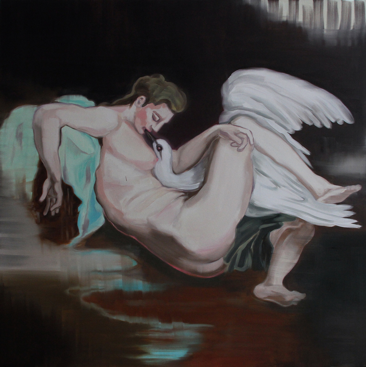 Untitled (Leda and the Swan)