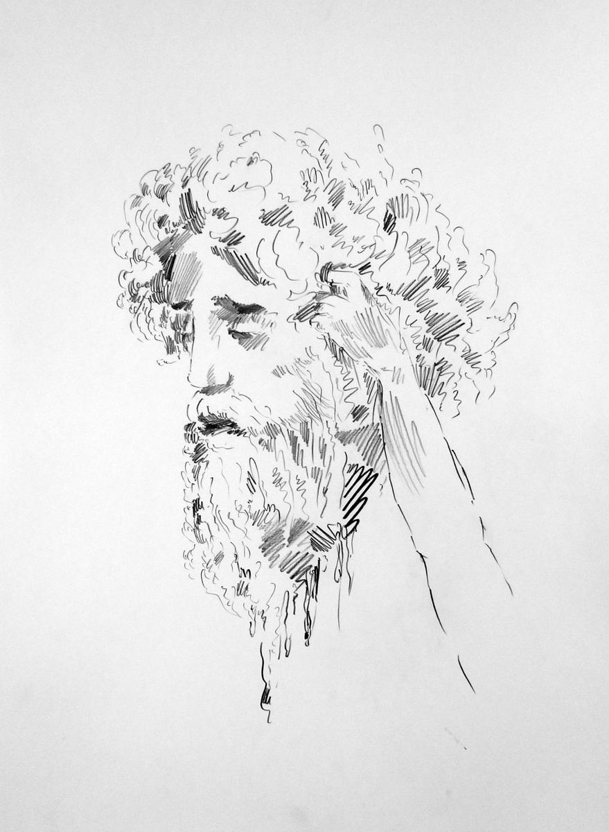2009 pencil on paper 70x50 cm