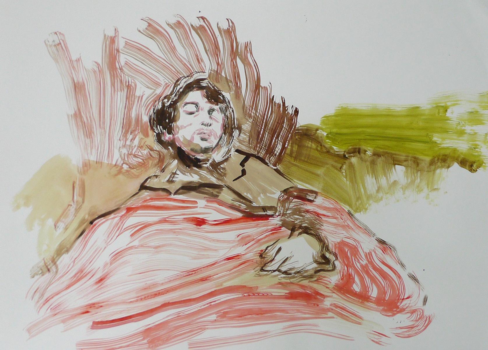 Courbet Sleeping
