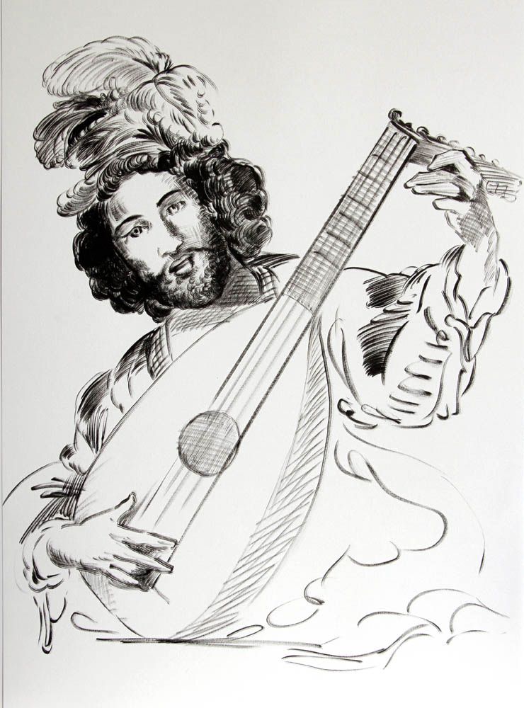 (Lute Player)