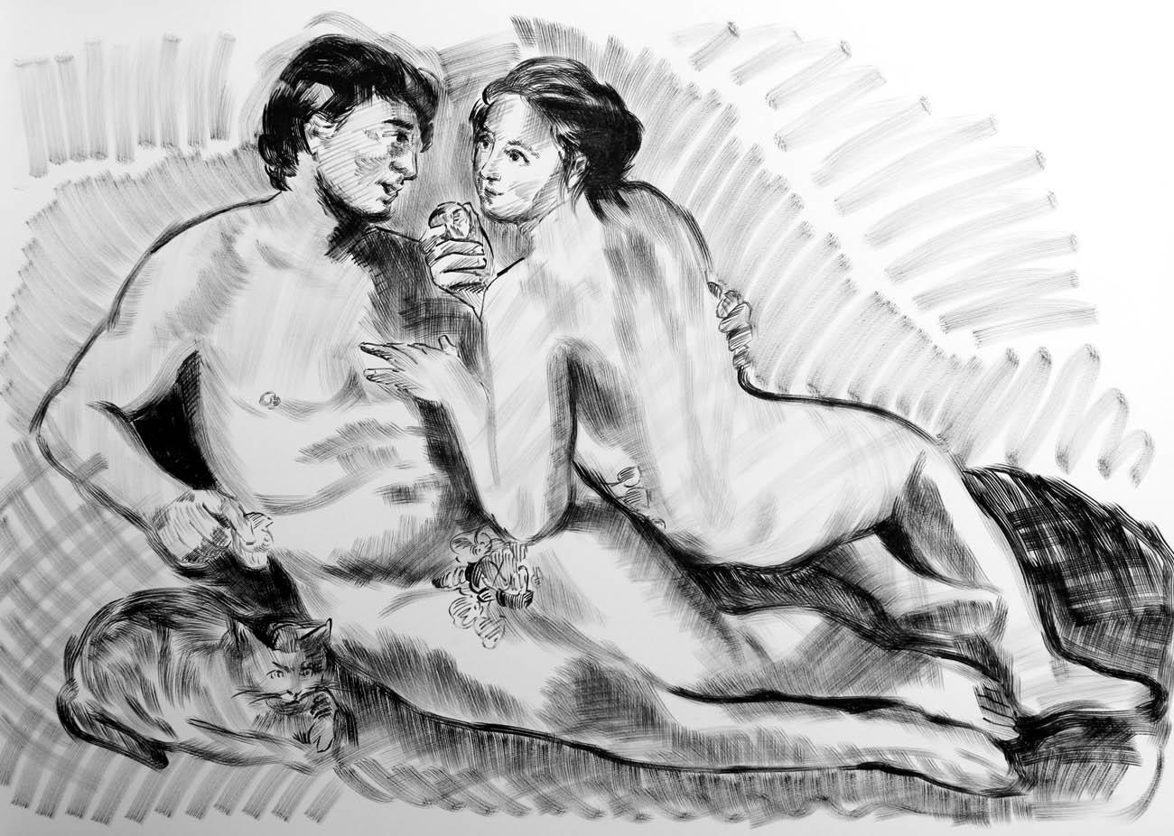 (Adam and Eve)