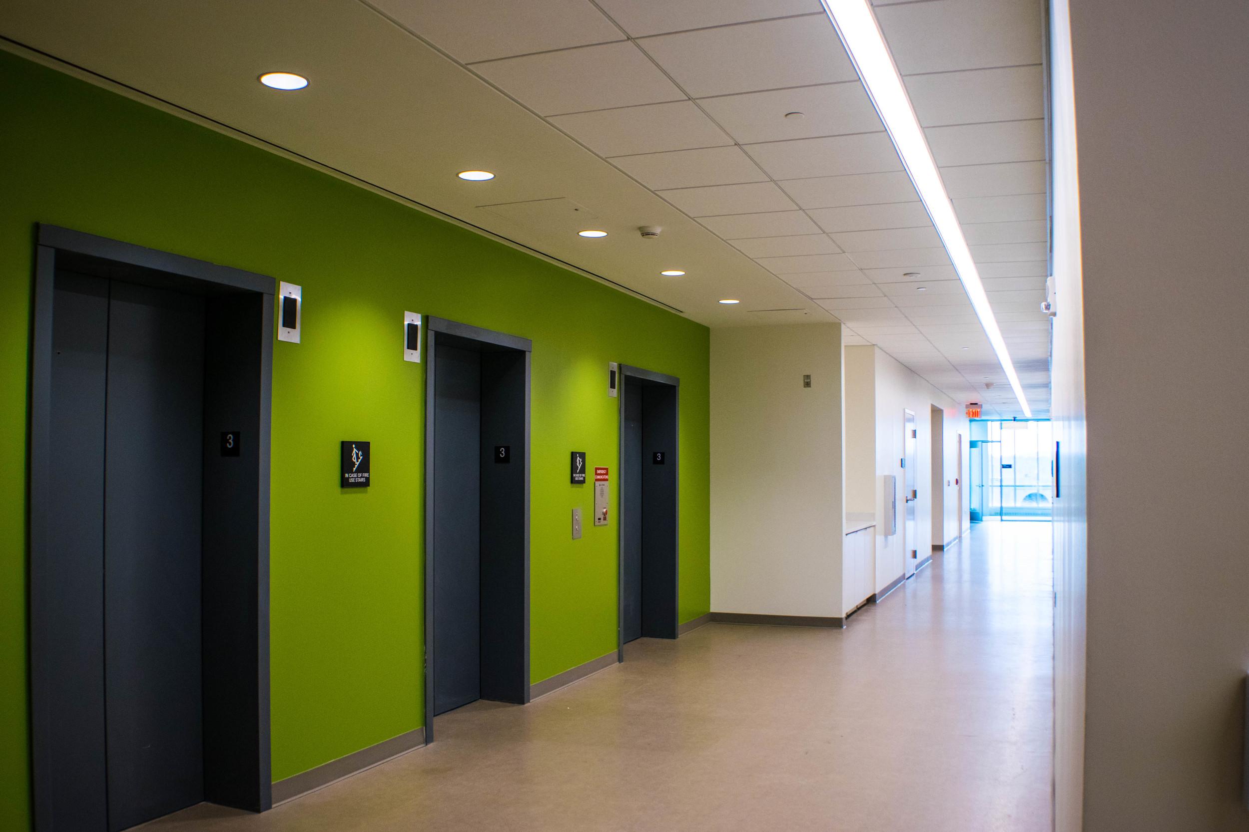JMU East Tower (3rd Floor Elevator Corridor)